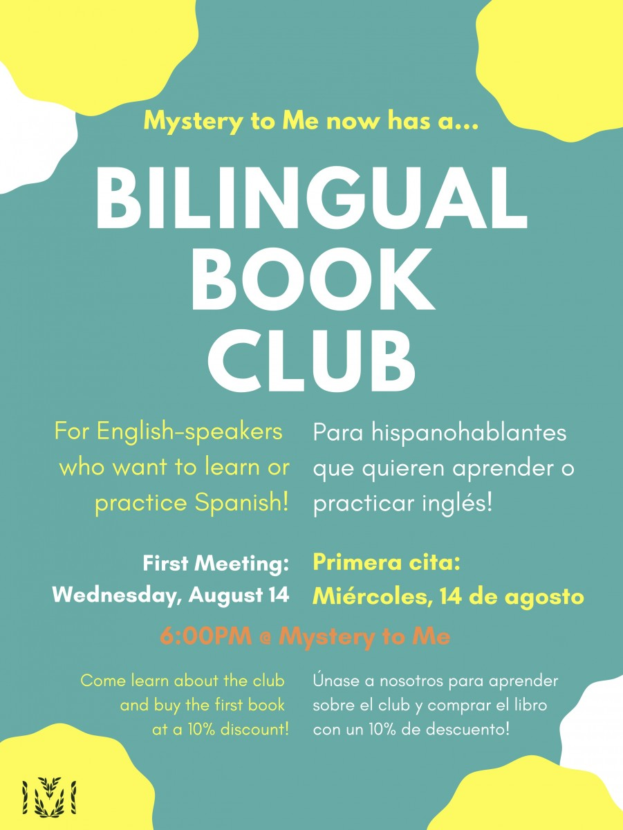 Bilingual Book Club at Mystery to Me